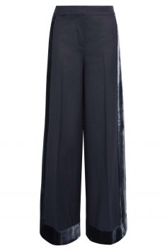 Click to Buy J. Crew Velvet Trimmed Trousers