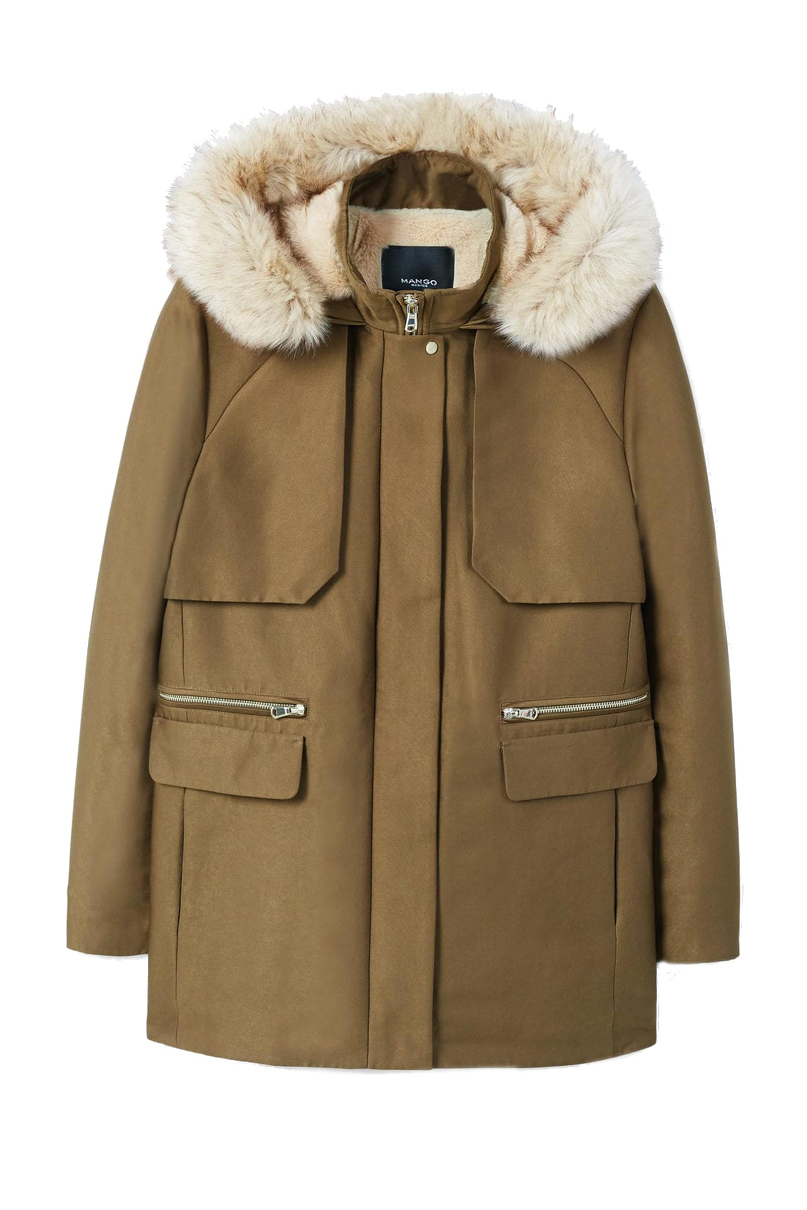 Click to Buy Mango Quilted Parka
