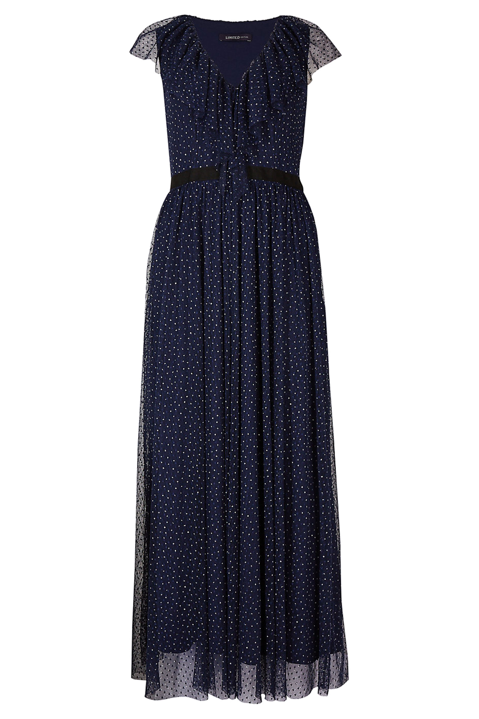Click to Buy Marks and Spencer Spot Midi Dress