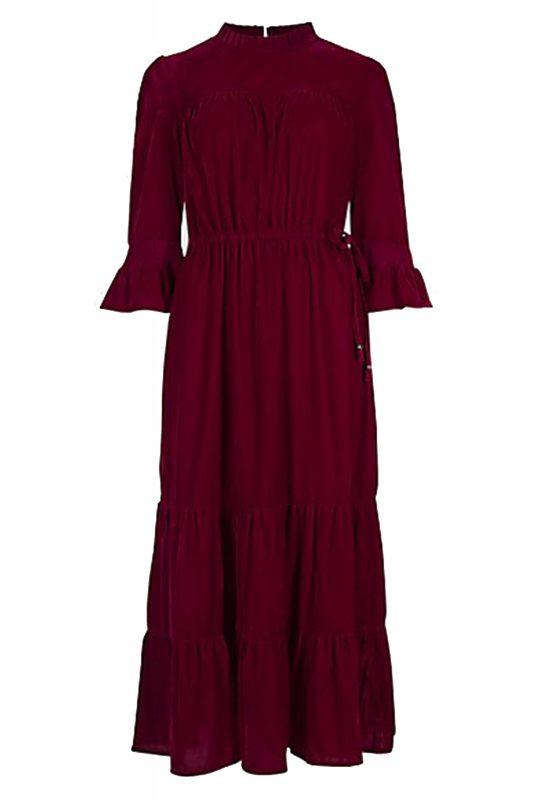 Click to Buy Marks and Spencer Velvet Maxi Dress