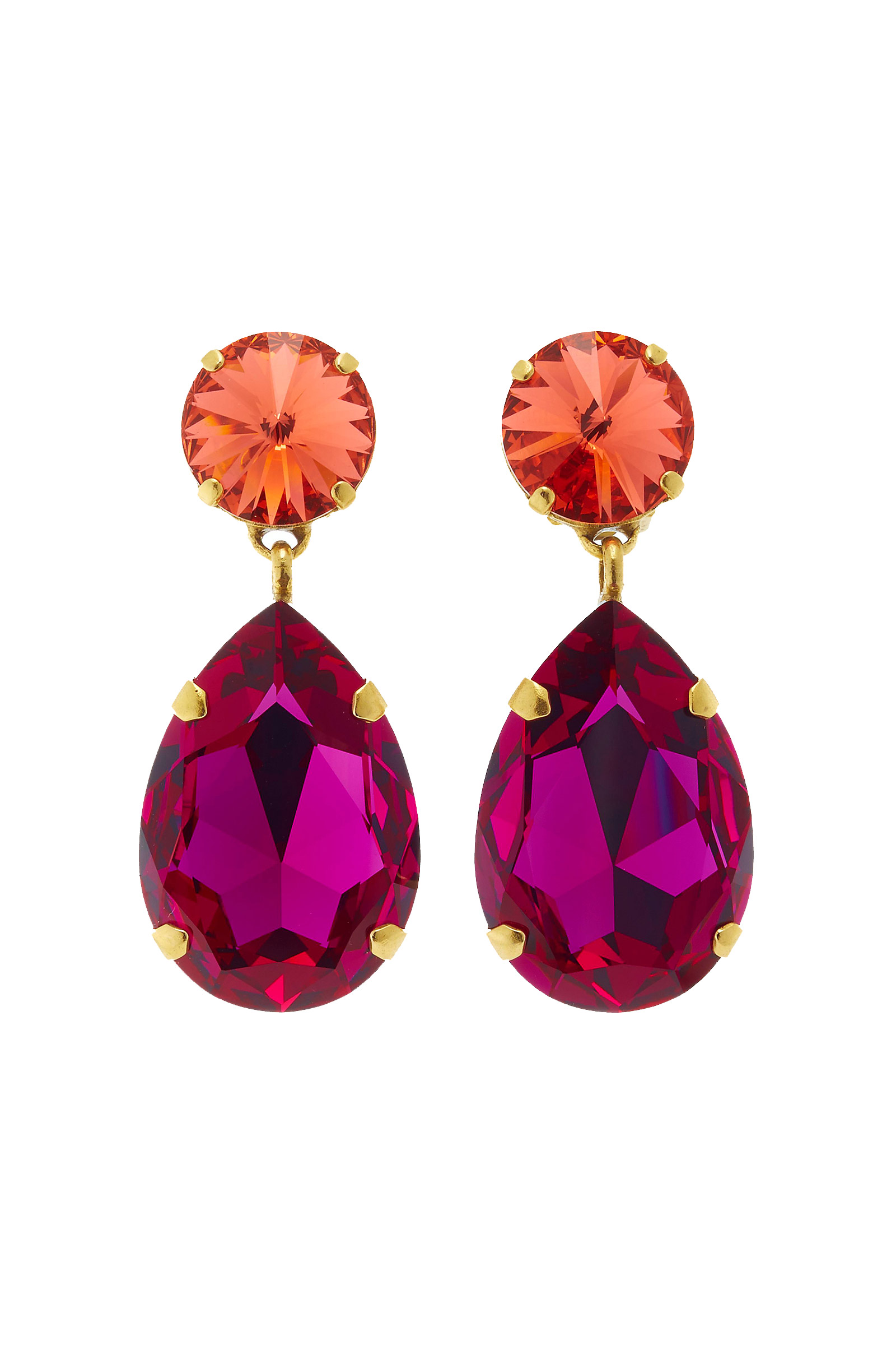 Click to Buy Roxanne Assoulin Crystal Earrings