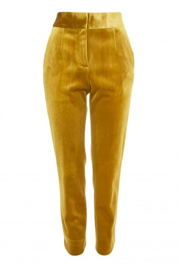 Click to Buy Topshop Velvet Trousers