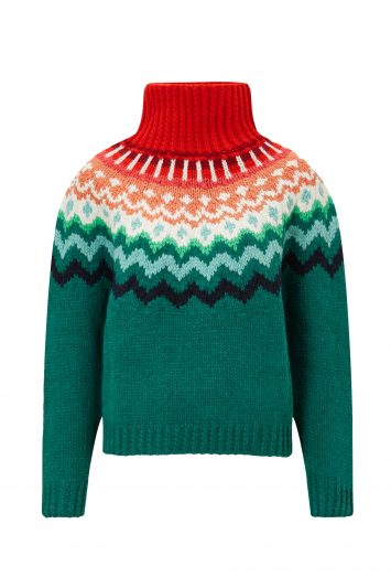 Click to Buy Anya Hindmarch Fairisle Jumper