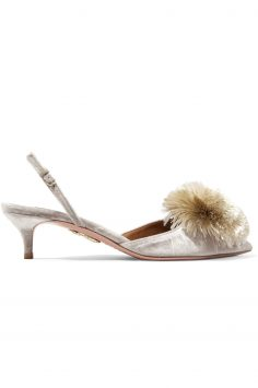 Click to Buy Aquazzura-Pompom-Heels