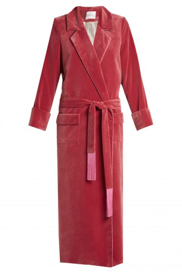 Click to Buy Racil-High-Windsor-Velvet-Robe