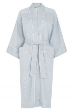 Click to Buy Whistles-Stripe-Cotton-Dressing-Gown