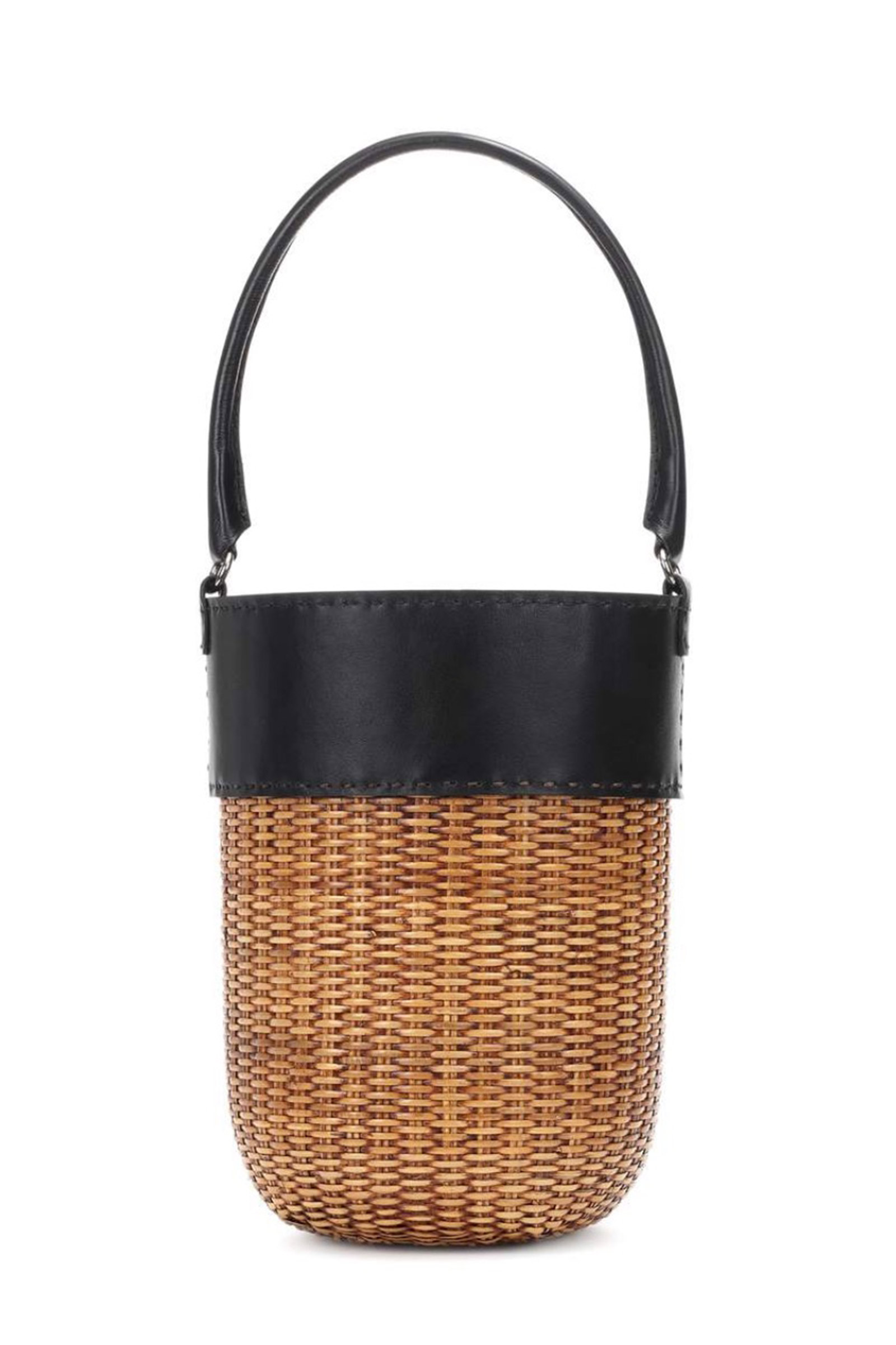 Click to Buy Kayu Lucie Woven Wicker Bag
