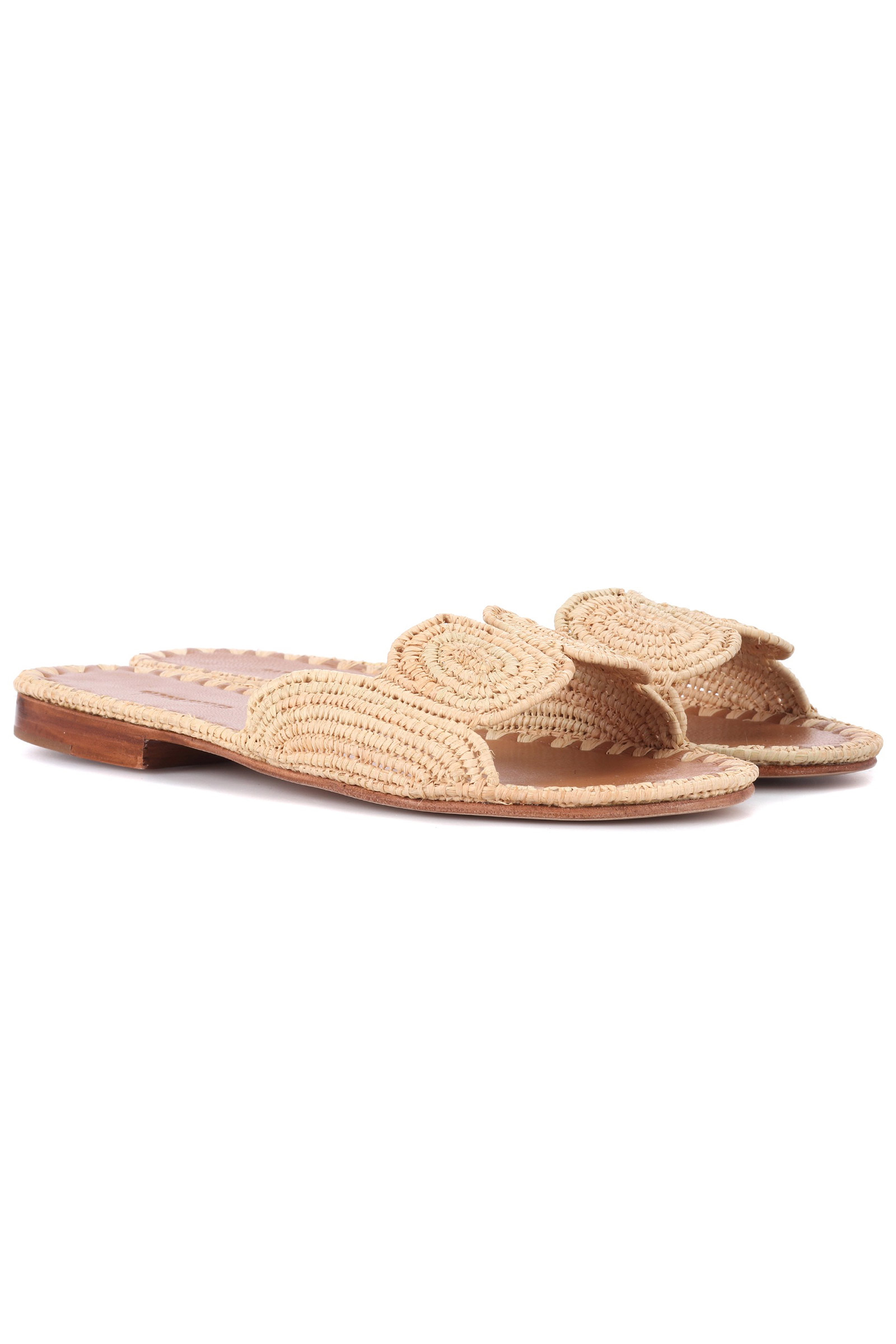 Click to Buy Carrie Forbes Straw Sliders