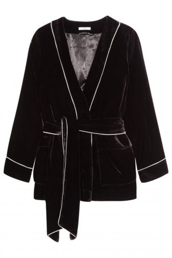 Click to Buy Ganni Velvet Jacket