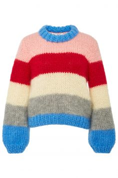 Click to Buy Ganni The Julliard Striped Sweater