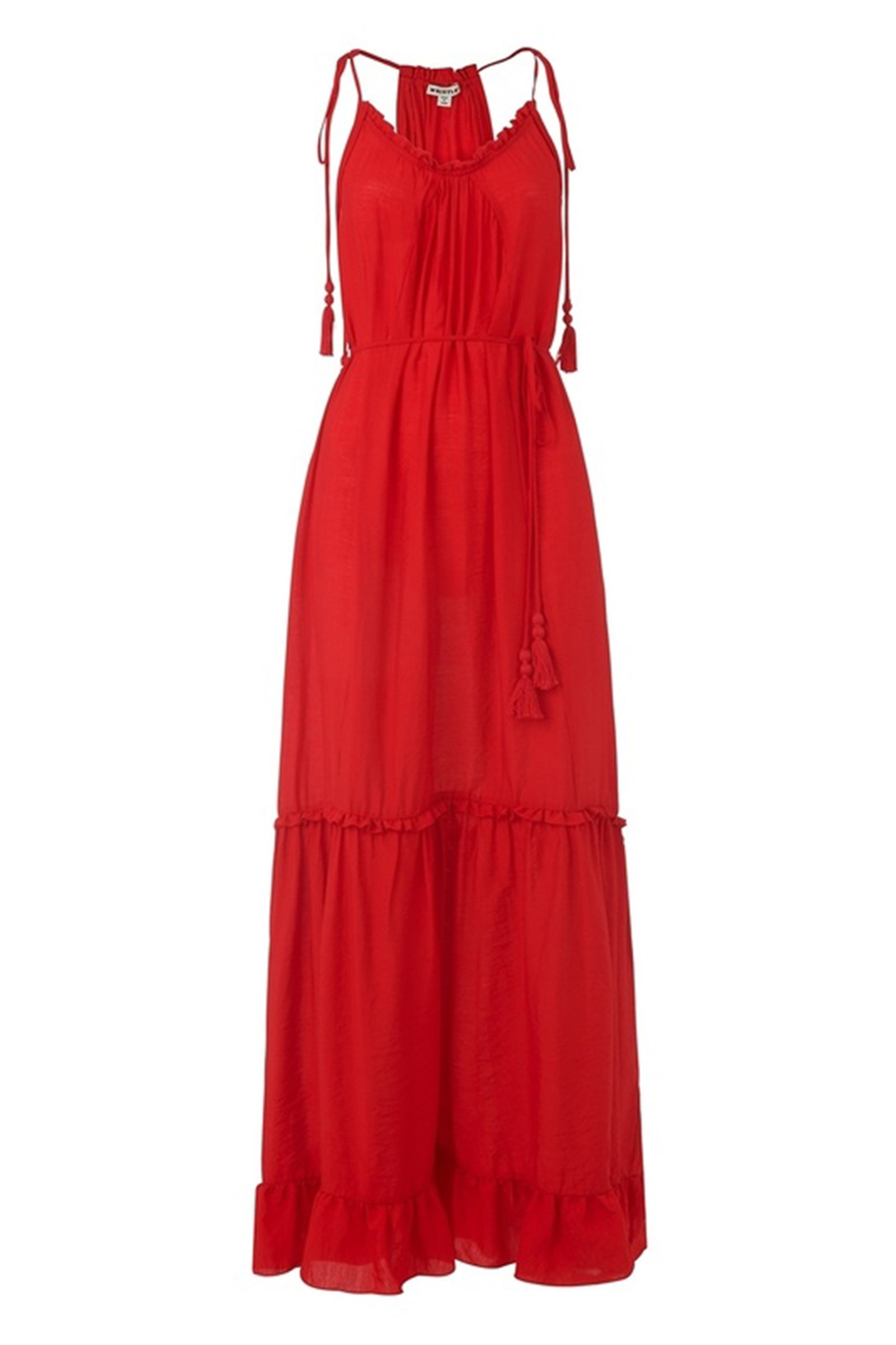 Click to Buy Whistles Red Dress