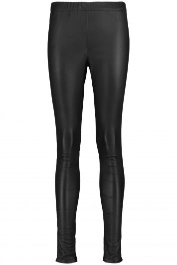 Click to Buy Iris and Ink Black Leather Leggings