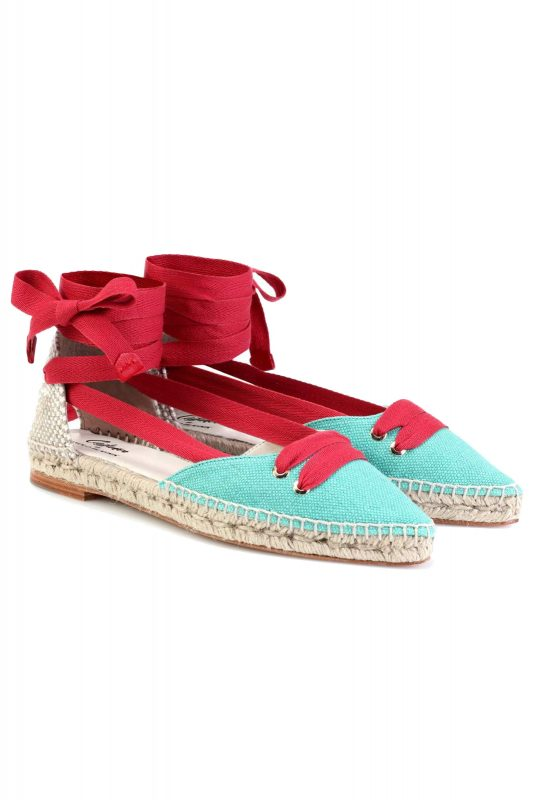 Click to Buy Manolo Blahnik Espadrilles