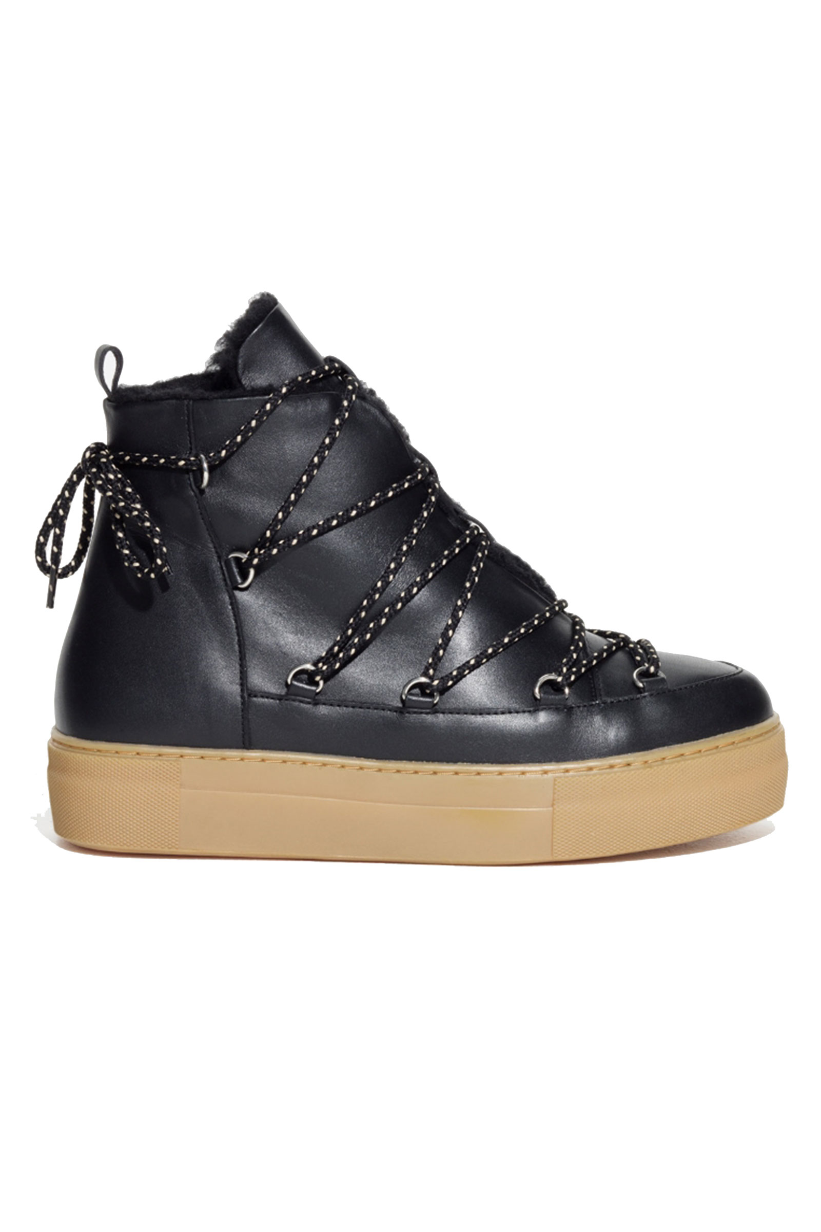 Click to Buy &-Other-Stories-Leather-Snow-Boots
