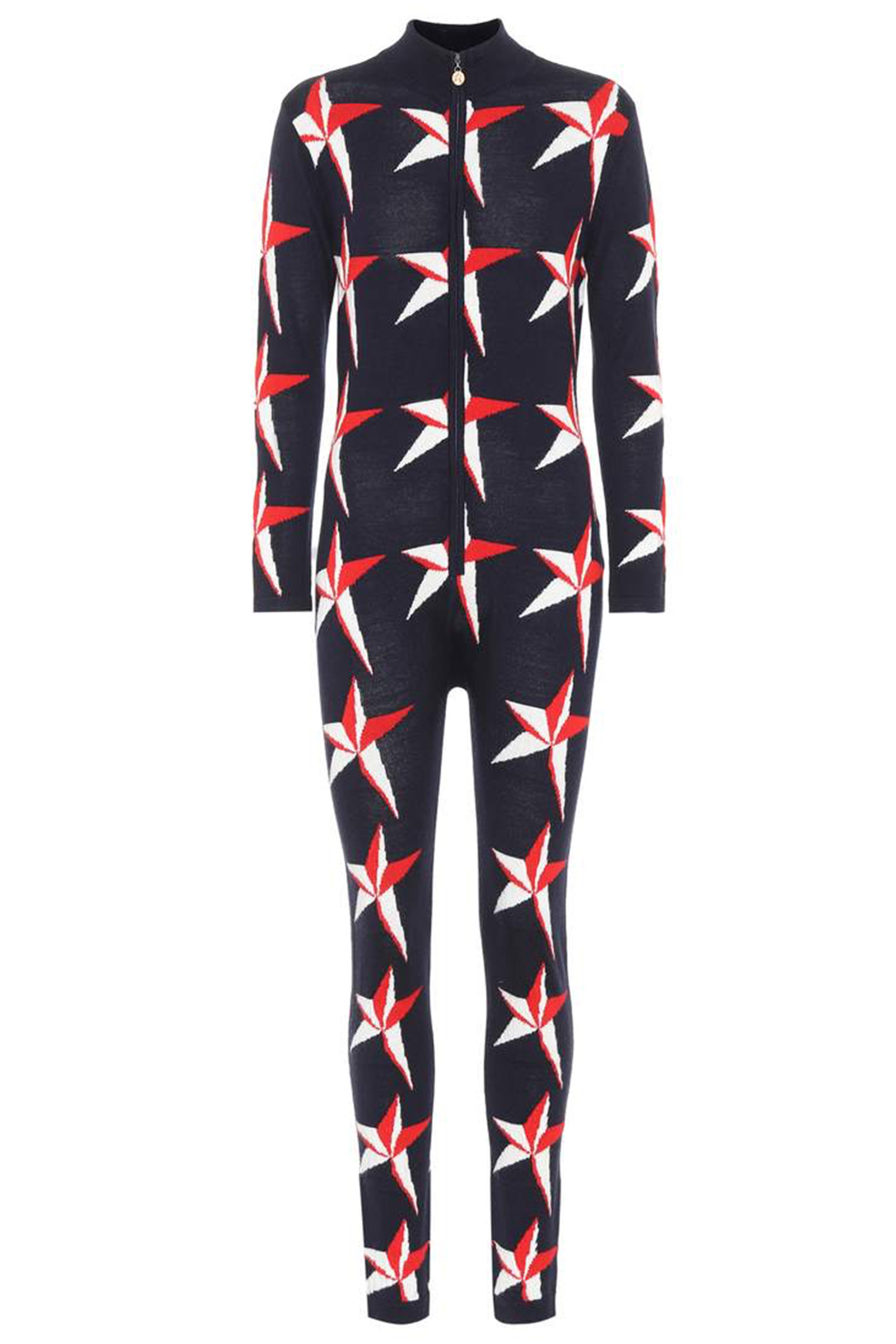 Click to Buy Perfect Moment Star Print Wool Jumpsuit