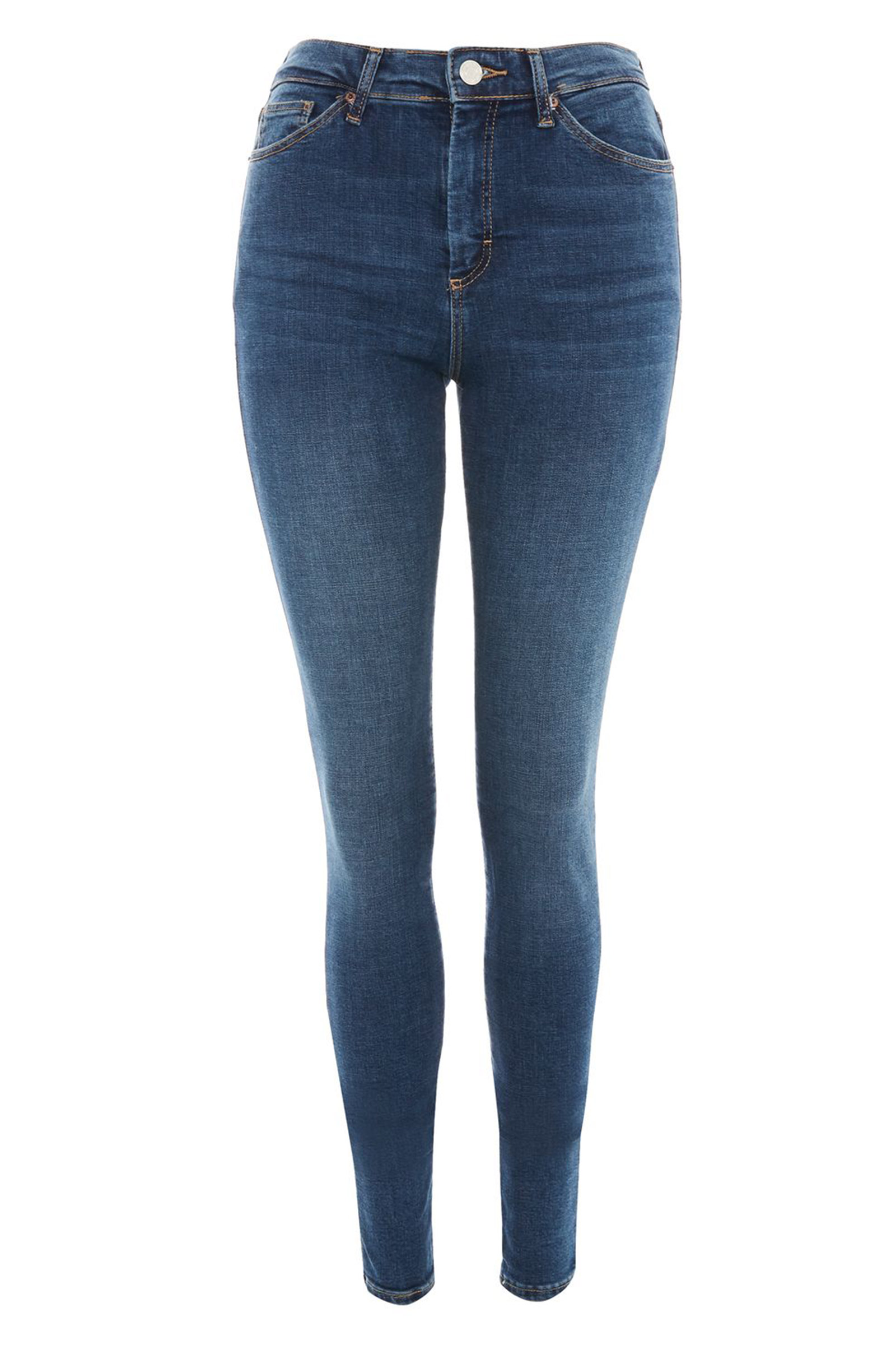 Click to Buy Topshop Mid Blue Jeans