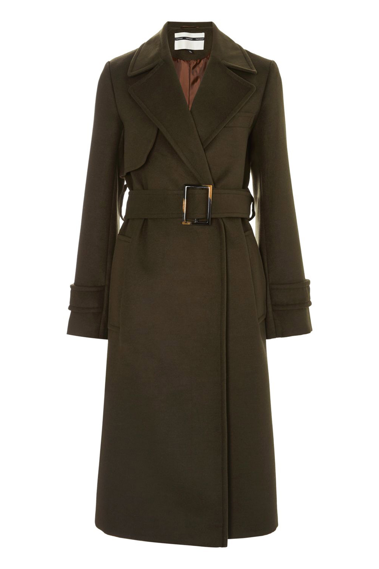 Click to Buy Topshop Military Trench Coat