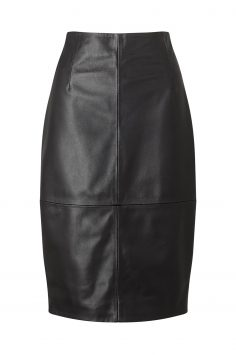 Click to Buy Jigsaw Leather Pencil Skirt