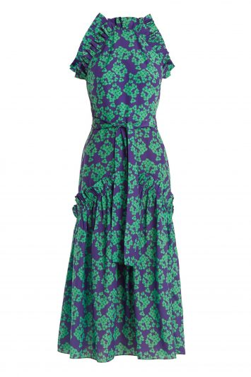 Click to Buy Borgo De Nor Print Dress