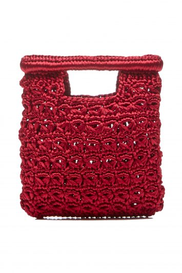 Click to Buy Carrie Forbes Rocio Square Crochet Tote