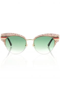 Click to Buy Gucci Half Rim Sunglasses