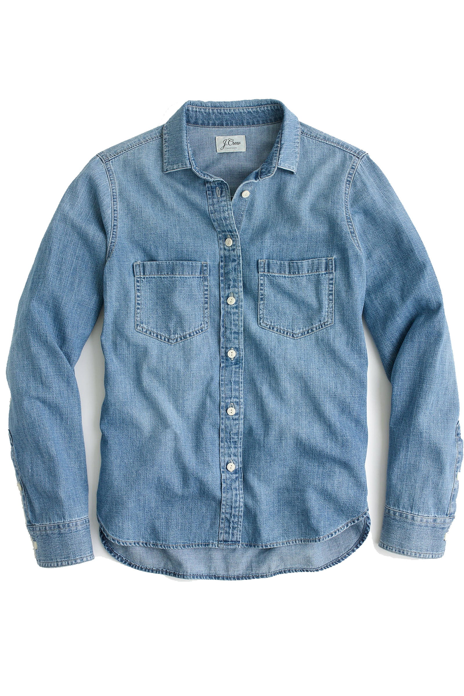 Click to Buy J. Crew Chambray Shirt Online