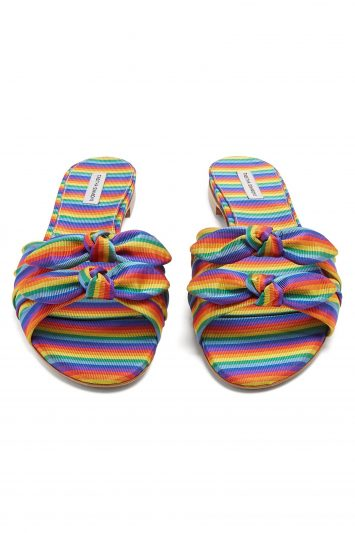 Click to Buy Tabitha Simmons Stripe Slides