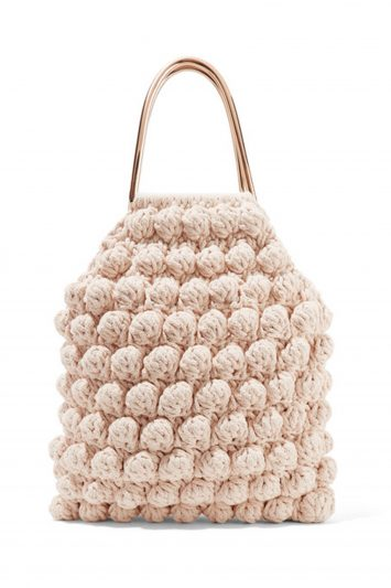 Click to Buy Ulla Johnson Crocheted Cotton Tote