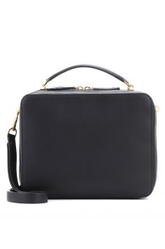 Click to Buy Anya Hindmarch Black Stack Bag