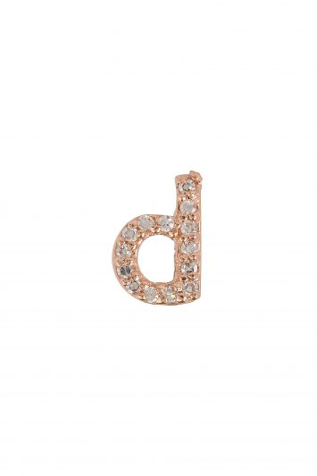 Click to Buy KC Design D Stud Earring