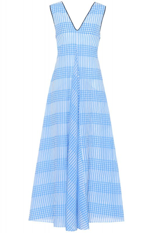 Click to Buy Ganni-Gingham-Dress