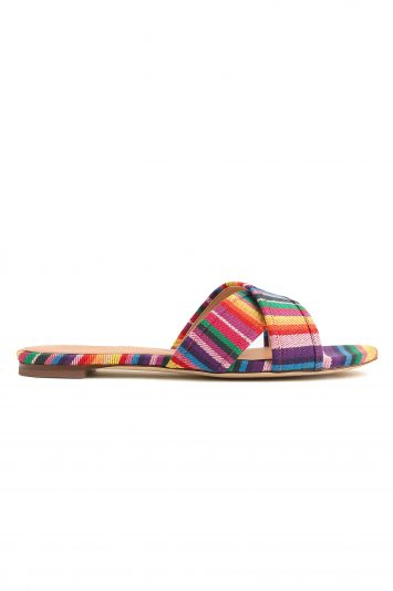 Click to Buy J. Crew Multi Stripe Sandals