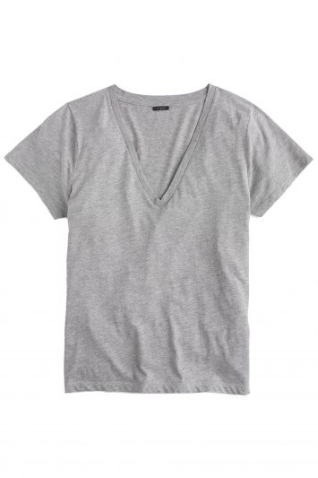 Click to Buy J. Crew V Neck Grey T Shirt