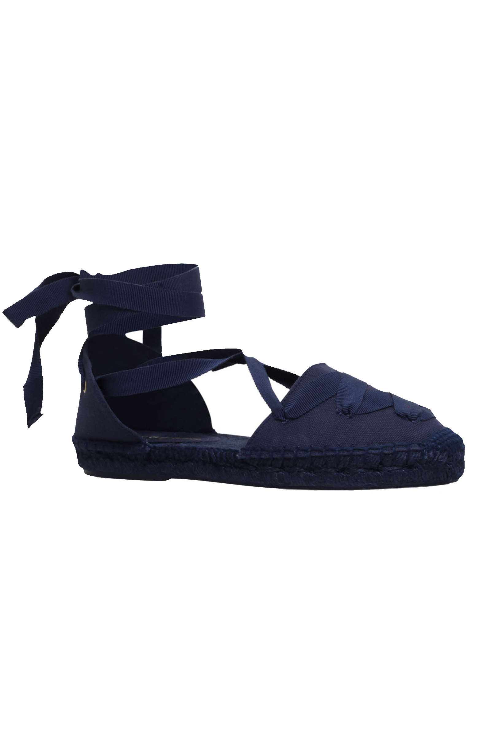 Click to Buy Kurt Geiger Margo Navy Espadrilles
