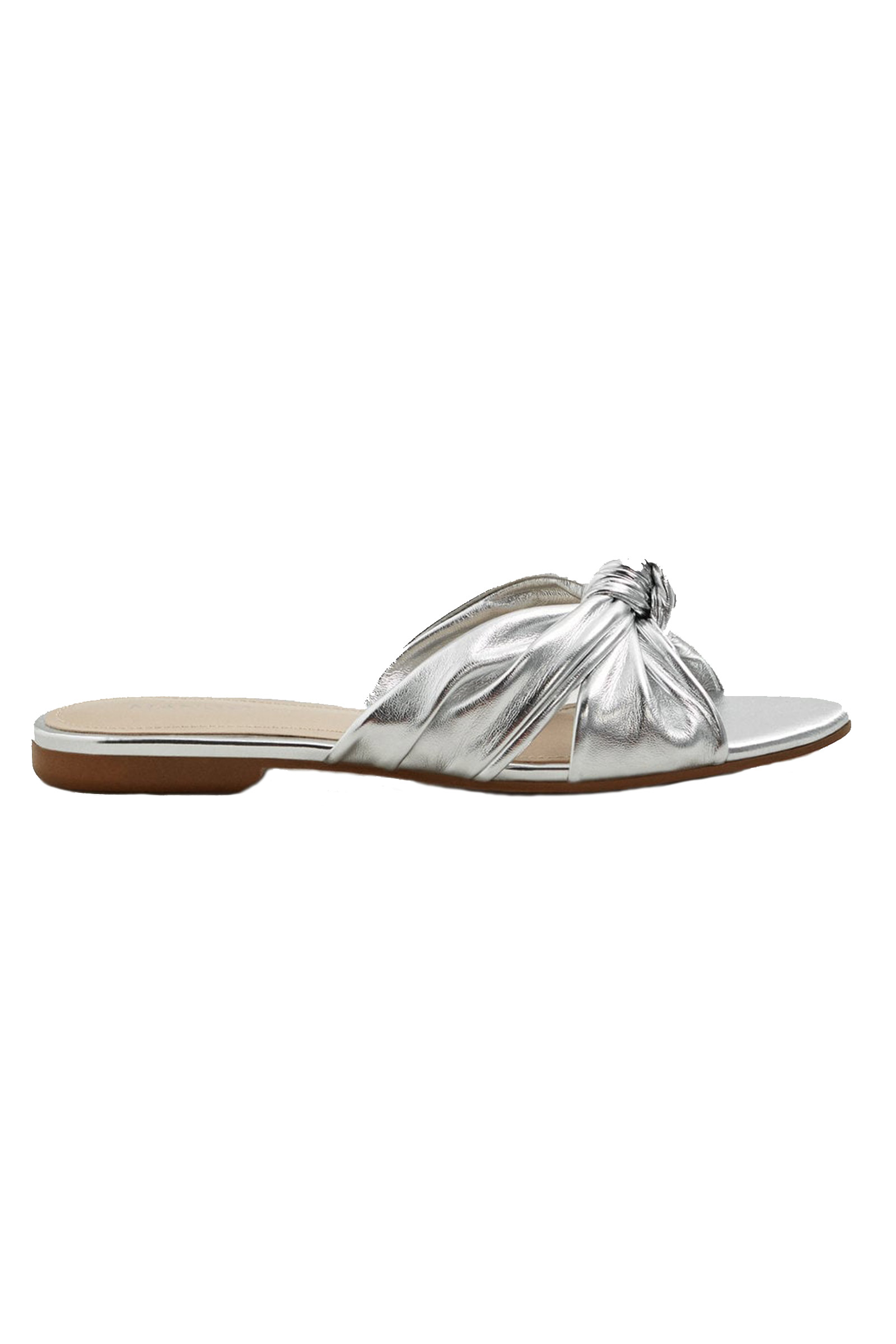 Click to Buy Mango Silver Slides