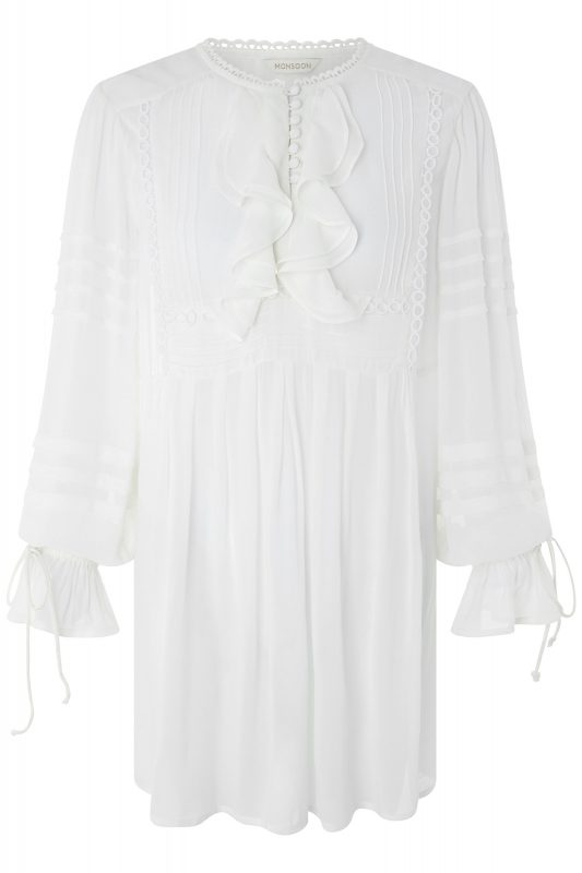 Click to Buy Monsoon White Harlow Top