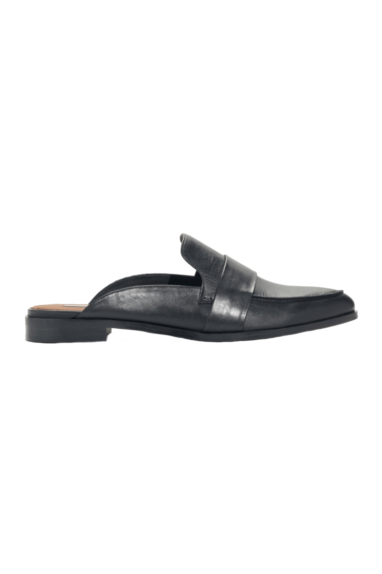 Click to Buy & Other Stories Black Leather Loafers