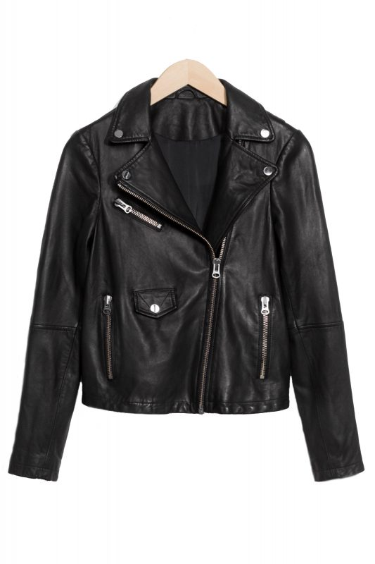 Click to Buy & Other Stories Leather Jacket