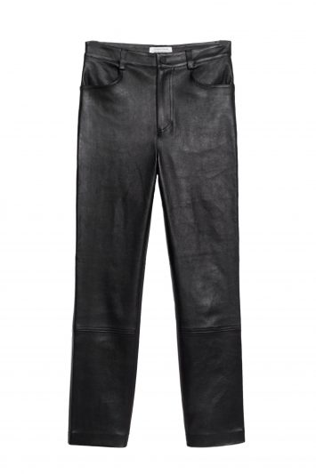 Click to Buy & Other Stories Leather Trousers