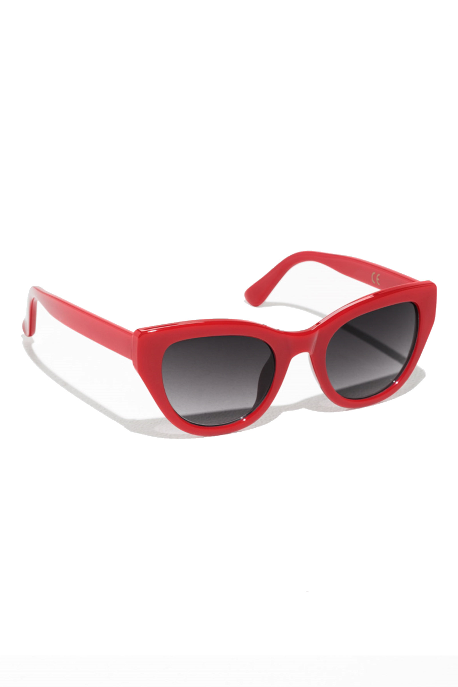 Click to Buy & Other Stories Red Cat Eye Sunglasses