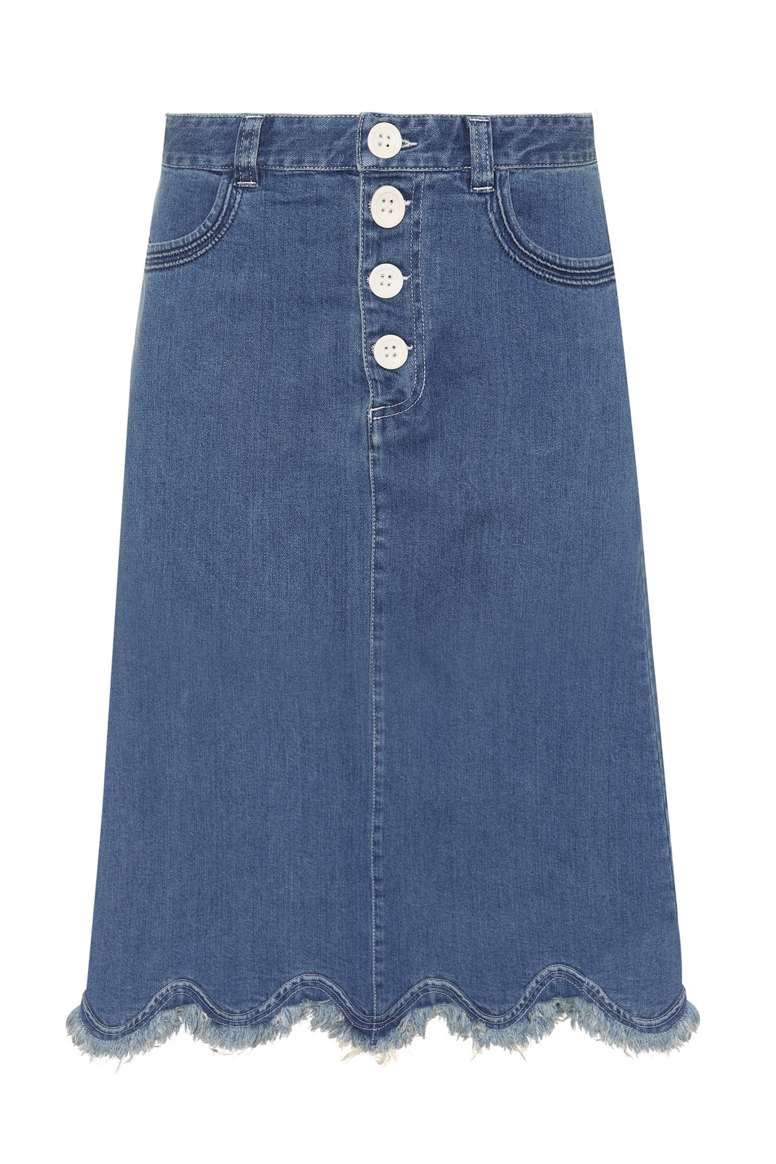 Click to Buy See By Chloé Denim Skirt