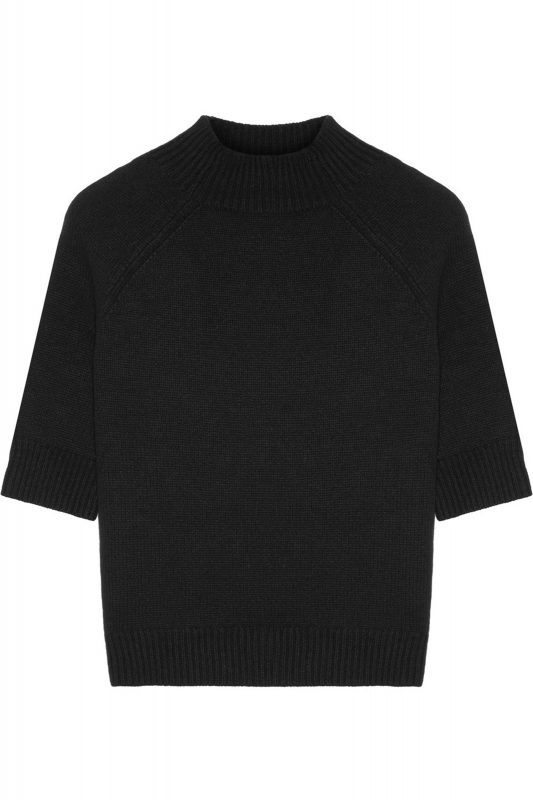 Click to Buy Theory Black Cashmere Sweater Online