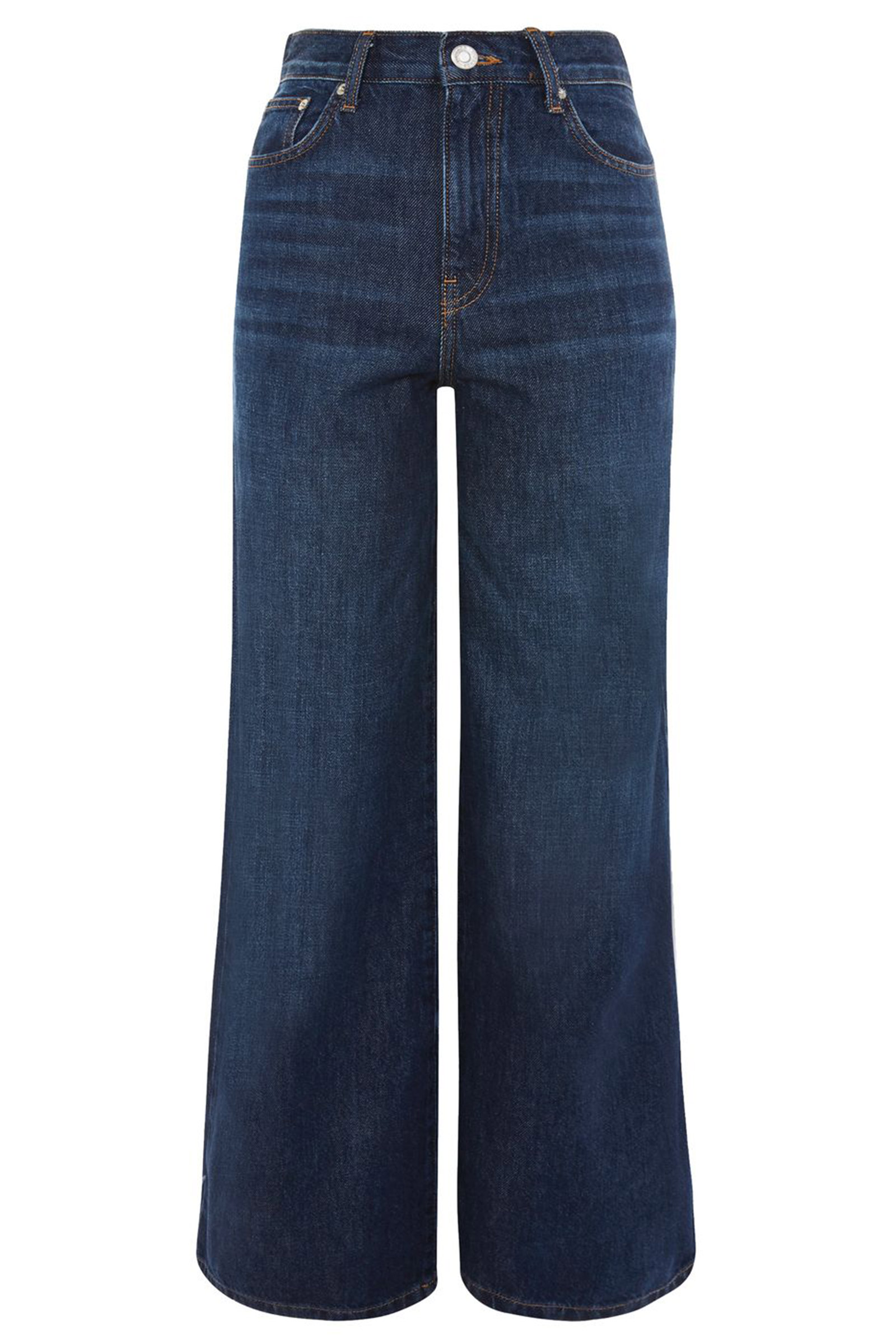 Click to Buy Topshop MOTO Wide Leg Jeans