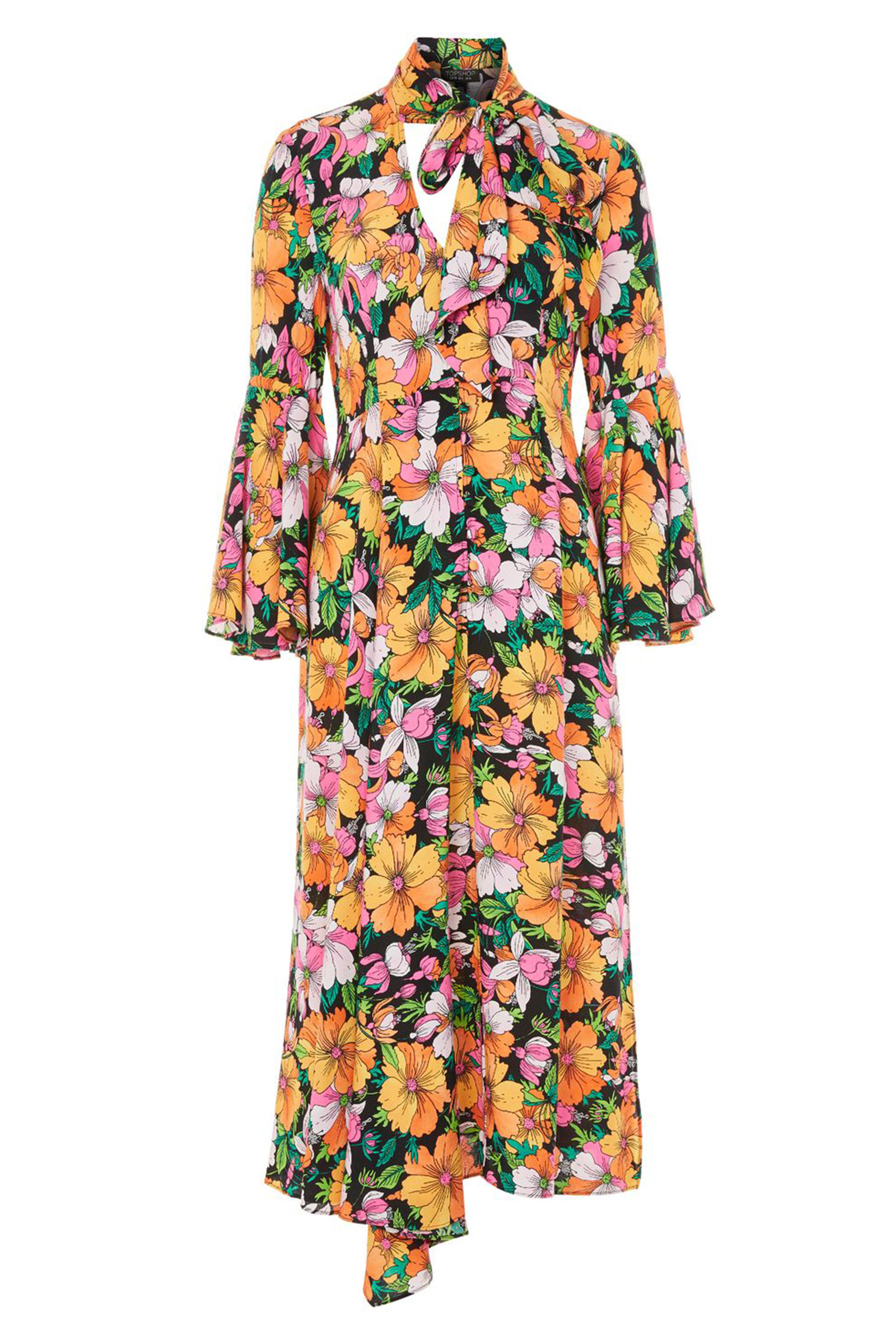 Click to Buy Topshop Heavy Petal Dress