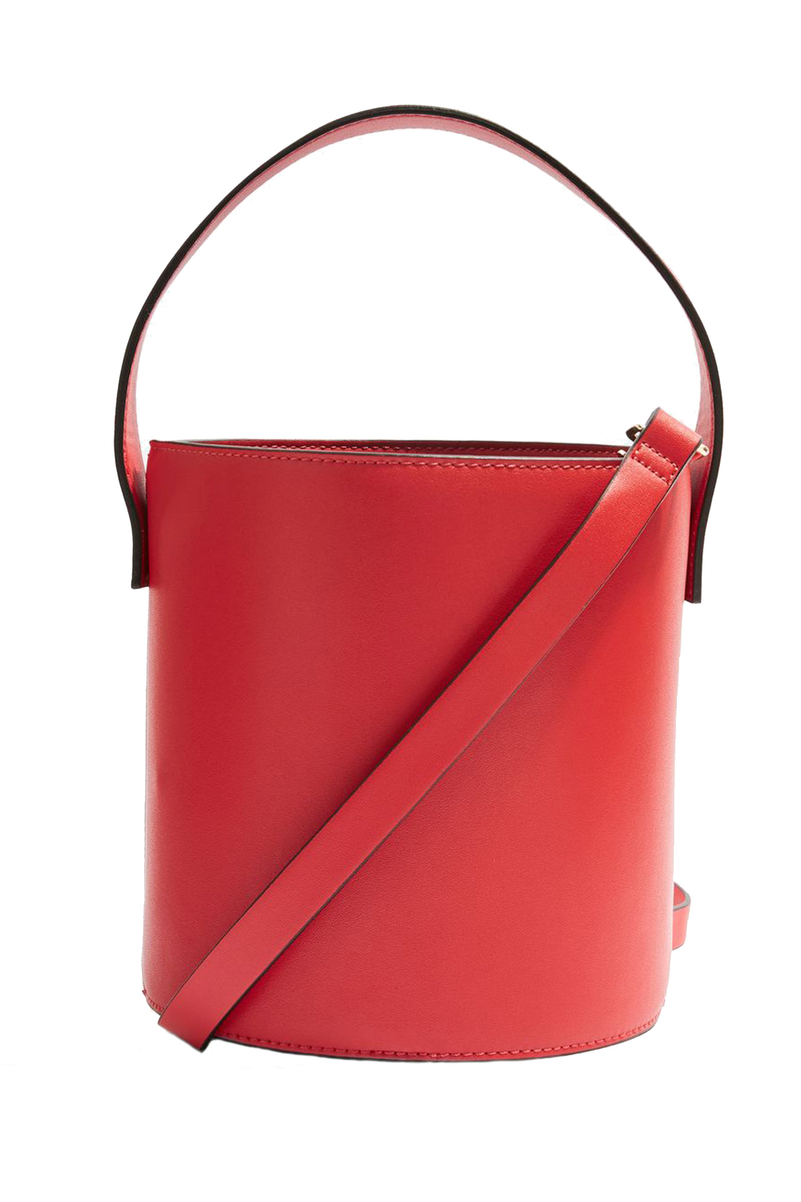 Click to Buy Topshop Red Bucket Bag