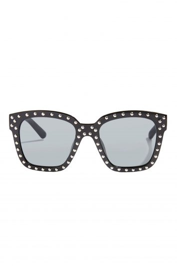 Click to Buy Topshop Wyclef Studded Frame Sunglasses Online