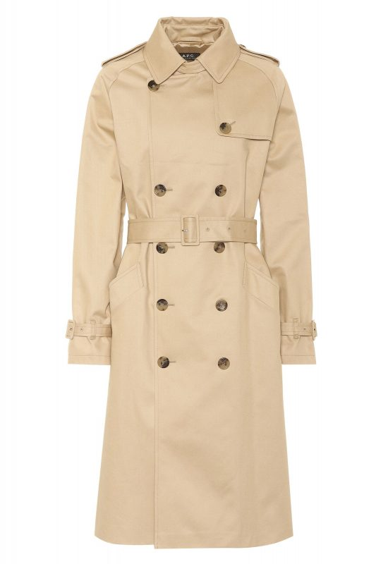 Click to Buy A.P.C Trench Coat