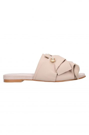 Click to Buy Kurt Geiger Slip On Pink Mules