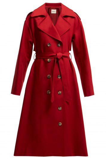 Click to Buy Khaite Trench Coat