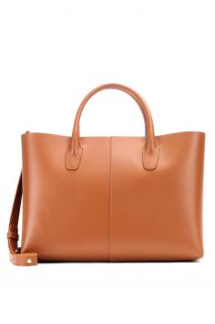 Click to Buy Mansur Gavriel Large Folded Leather Tote bag